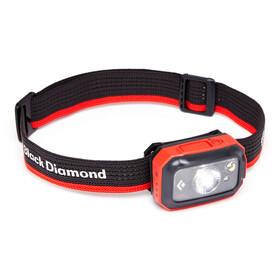 Black Diamond Revolt 350 Lampada Frontale, grigio/rosso